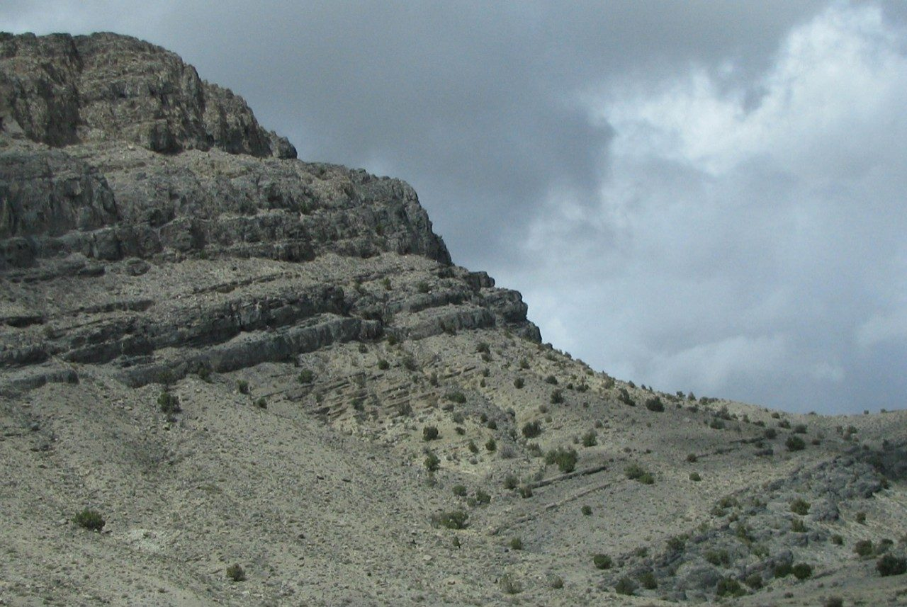 Outcrop of the Wheeler Formation