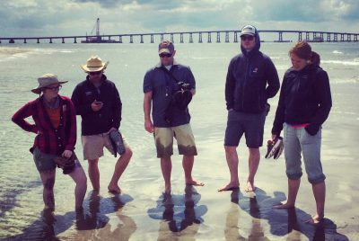 Students and Faculty in the Outer Banks, NC