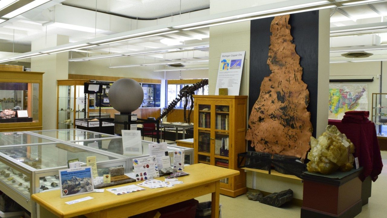 Photo of the Museum of Geoscience at Virginia Tech