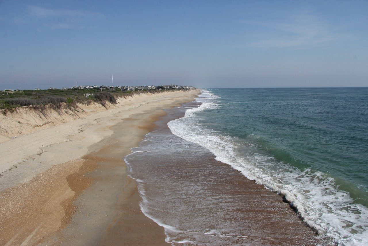 Coastline in the Outer Banks