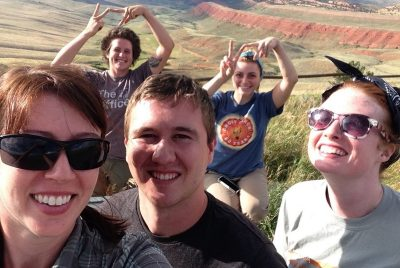 VT Paleo having fun in Wyoming!