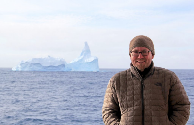 Geosciences' Brian Romans to continue studying sediments collected from Antarctic Ice Sheet